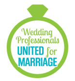 Wedding Professionals United for Marriage badge