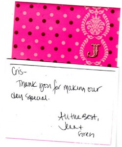 Jenn and Greg 062812 Thanks card