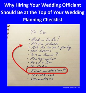 Wedding Officiant, Wedding Planning, Wedding Ceremony, New Jersey, Inclusive Ceremonies