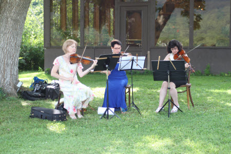 Wedding music,string trio, Inclusive Ceremonies, Wallpack Inn Wedding, Sussex County NJ
