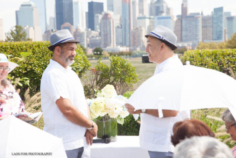 Bruce and Marcos had some of my favorite wedding vows.